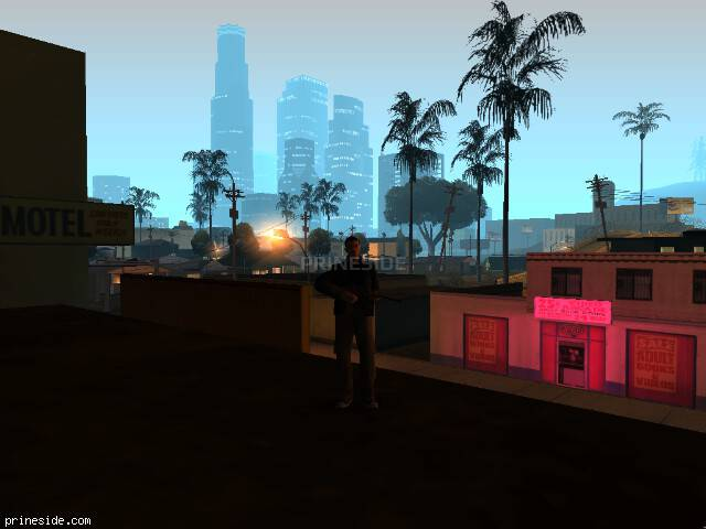 GTA San Andreas weather ID 102 at 5 hours