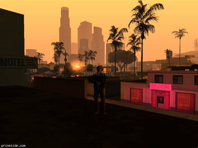 GTA San Andreas weather ID 102 at 6 hours