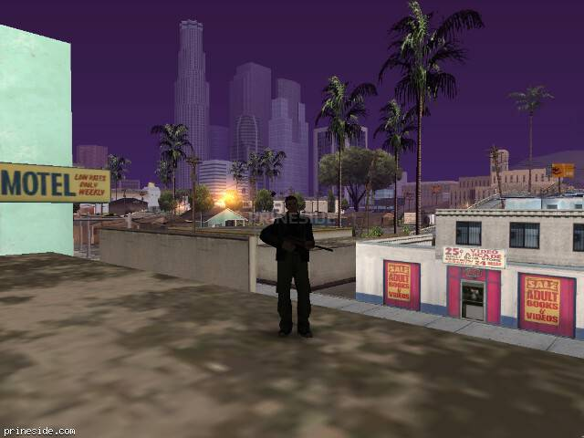 GTA San Andreas weather ID 102 at 7 hours
