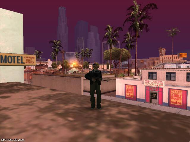 GTA San Andreas weather ID 102 at 8 hours
