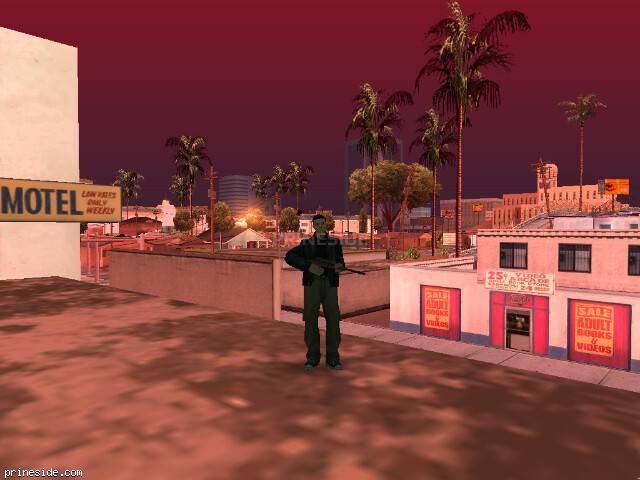 GTA San Andreas weather ID 102 at 9 hours