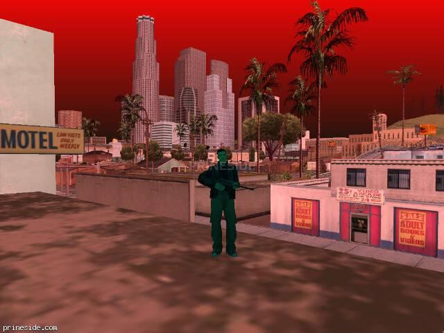 Просмотр погоды GTA San Andreas с ID 103 в 13 часов