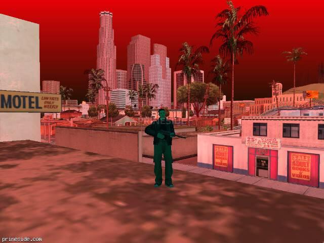 Просмотр погоды GTA San Andreas с ID 615 в 17 часов