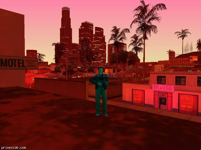 Просмотр погоды GTA San Andreas с ID 103 в 21 часов