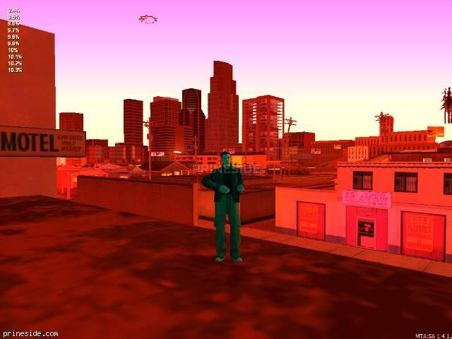 Просмотр погоды GTA San Andreas с ID 103 в 22 часов