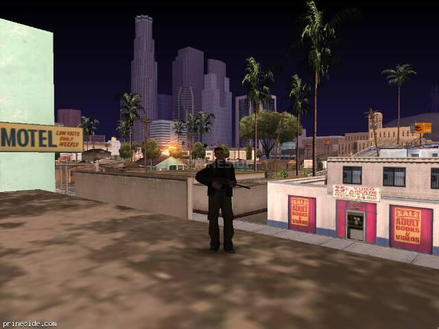 Просмотр погоды GTA San Andreas с ID 103 в 7 часов