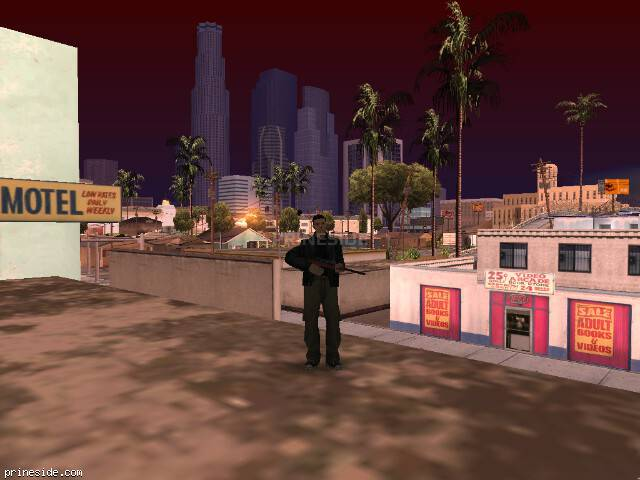 GTA San Andreas weather ID 103 at 8 hours