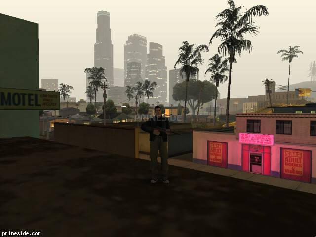GTA San Andreas weather ID -152 at 0 hours