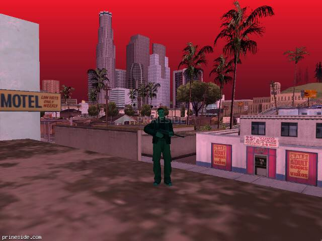 GTA San Andreas weather ID 360 at 14 hours