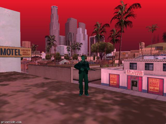 GTA San Andreas weather ID -152 at 17 hours