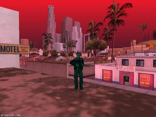 GTA San Andreas weather ID -1688 at 19 hours