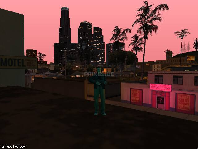 GTA San Andreas weather ID -664 at 21 hours