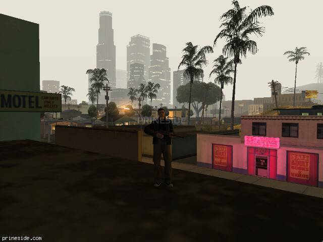 GTA San Andreas weather ID 104 at 3 hours