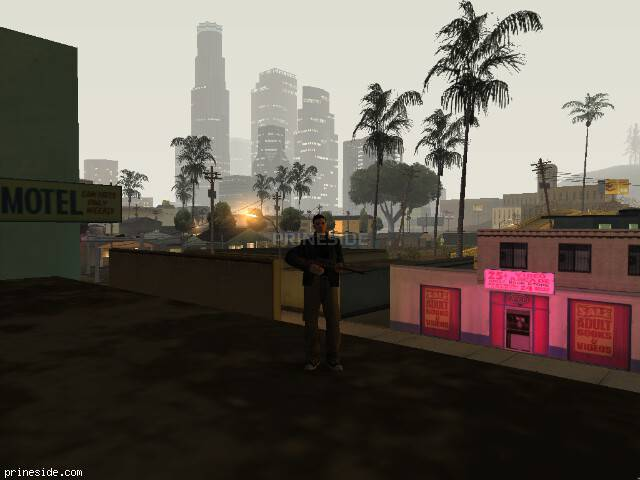 GTA San Andreas weather ID -1432 at 4 hours