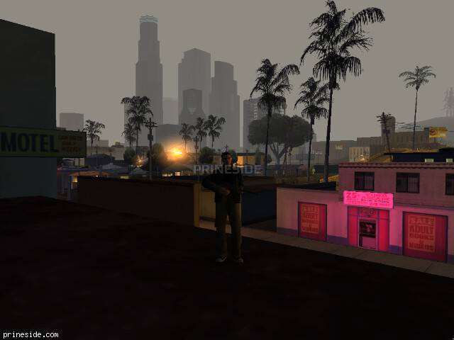 GTA San Andreas weather ID -1176 at 6 hours