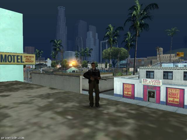 GTA San Andreas weather ID 104 at 7 hours