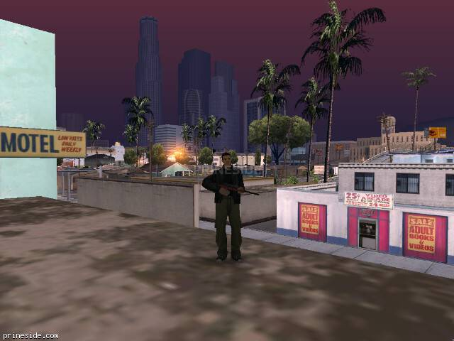 GTA San Andreas weather ID -152 at 8 hours