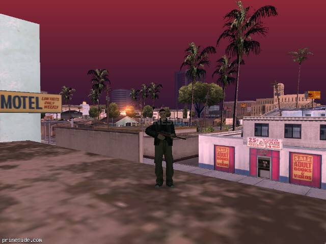 GTA San Andreas weather ID 360 at 9 hours
