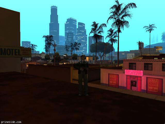 GTA San Andreas weather ID 105 at 0 hours