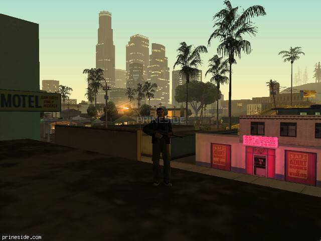GTA San Andreas weather ID -1175 at 5 hours