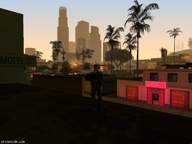 GTA San Andreas weather ID 105 at 6 hours