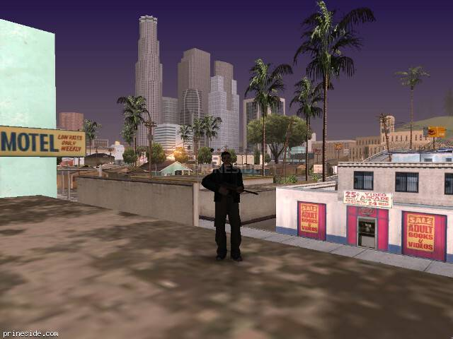 GTA San Andreas weather ID 105 at 7 hours