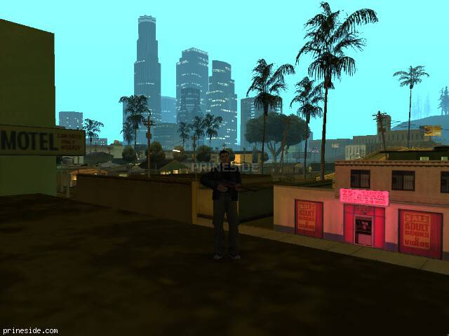 Просмотр погоды GTA San Andreas с ID 106 в 1 часов