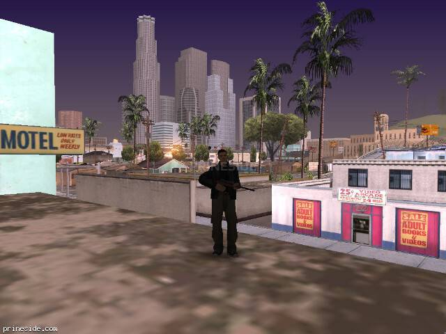 GTA San Andreas weather ID -150 at 7 hours