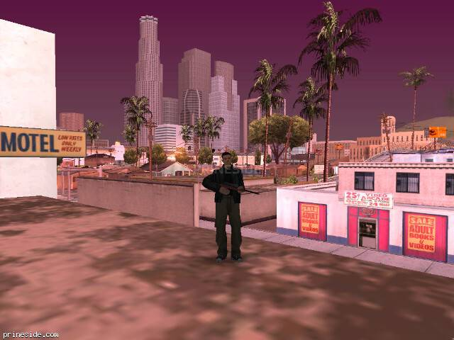 GTA San Andreas weather ID 874 at 8 hours