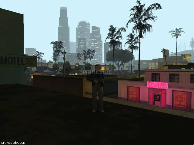 GTA San Andreas weather ID 107 at 0 hours