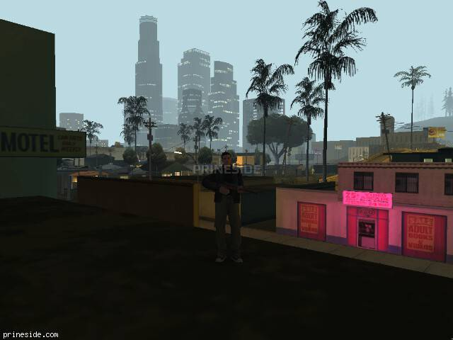 GTA San Andreas weather ID 107 at 1 hours