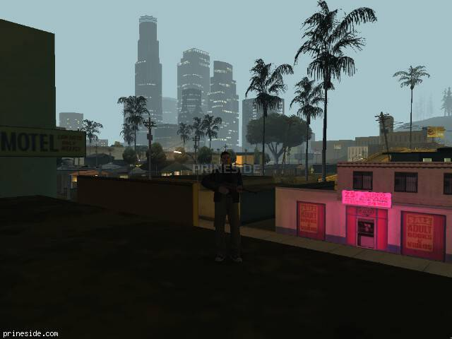 GTA San Andreas weather ID 107 at 2 hours