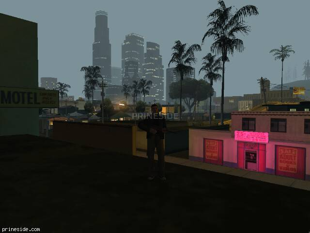 GTA San Andreas weather ID 107 at 4 hours
