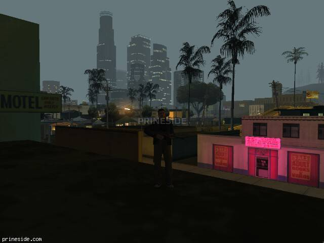 GTA San Andreas weather ID -1173 at 5 hours