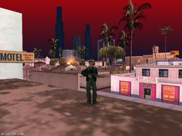 GTA San Andreas weather ID 107 at 9 hours