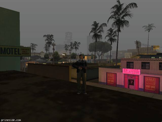 GTA San Andreas weather ID -404 at 0 hours