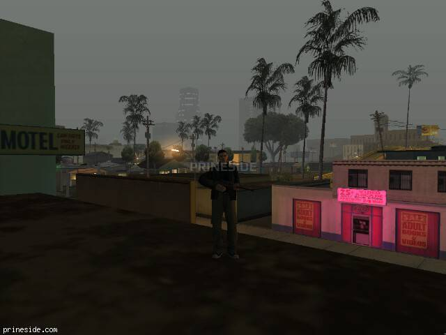 GTA San Andreas weather ID 108 at 2 hours