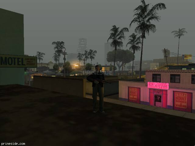 GTA San Andreas weather ID -148 at 3 hours