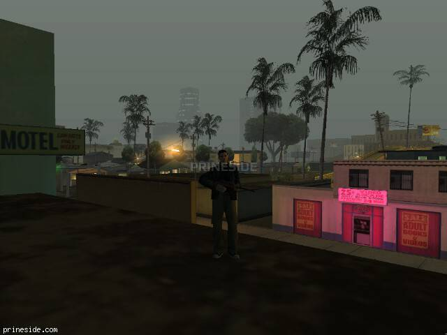 GTA San Andreas weather ID -148 at 4 hours