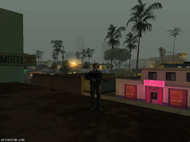 GTA San Andreas weather ID 108 at 5 hours