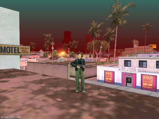 GTA San Andreas weather ID -404 at 6 hours