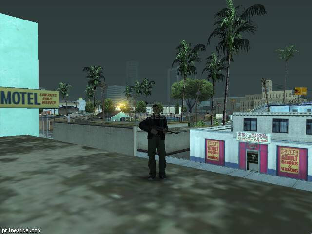 GTA San Andreas weather ID 108 at 7 hours