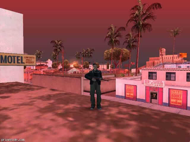 GTA San Andreas weather ID 108 at 9 hours