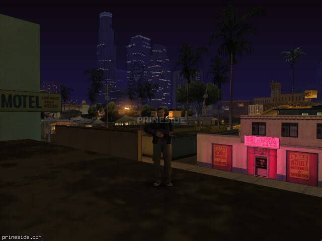GTA San Andreas weather ID 523 at 0 hours