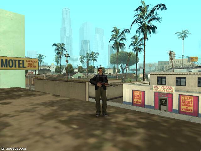 GTA San Andreas weather ID 11 at 11 hours