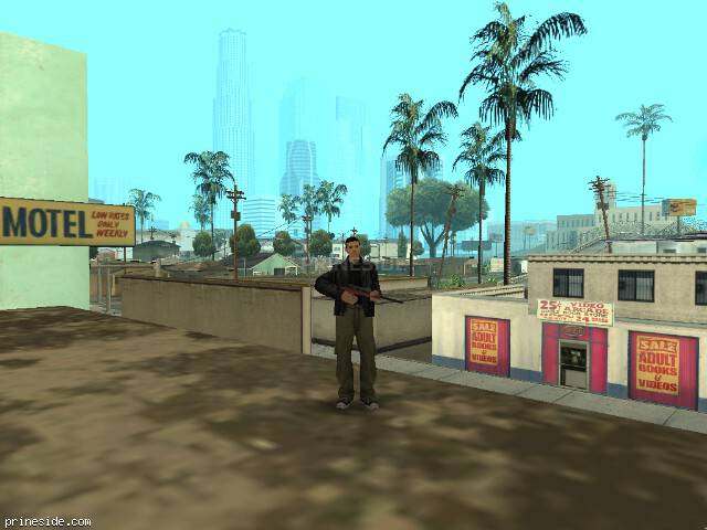 GTA San Andreas weather ID -1013 at 13 hours