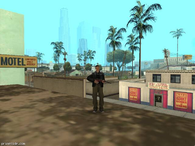 GTA San Andreas weather ID -501 at 16 hours
