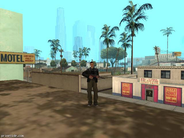 GTA San Andreas weather ID 267 at 18 hours