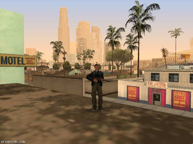GTA San Andreas weather ID 1035 at 20 hours