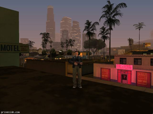 GTA San Andreas weather ID 2059 at 21 hours